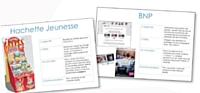 La filiale française travaille notamment pour Hachette ou BNP Paribas.