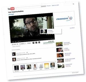 Grâce à un dispositif innovant, les internautes font évoluer le scénario du spot de Primagaz diffusé sur YouTube.