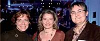 Karine Fostier (La Poste Courrier), Laure Droulon (Conforama) et Sylvie Joseph (La Poste Courrier).