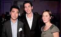 David Kim (Worldpay), Xavier Mayeur et Anne-Solène Alix (Editialis).