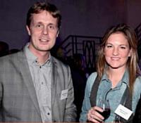 Sébastien Charderon (Cifea DMK), et Maud de Coster (Critère Direct).