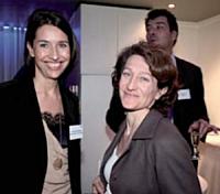 Stéfanie Moge-Masson (Editialis) et Emmanuelle Cariou (Boursorama).