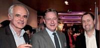 Jean-Michel Moulié (WDM France), Thomas Schult (DOTSS) et Stéphane Barthélémy (Adress Company.