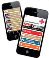 Crée par la Croix-Roug Française, «l'Appli qui sauve« a été téléchargée plus de 125 000 fois dès sa sortie.