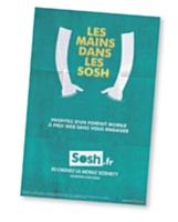 Pour être en phase avec les jeunes, Sosh offre un accès à la data, à la VoIP, et des SMS en illimité.