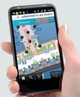 L'application d'ADP permet de guider les visiteurs dans l'aéroport de Paris-CDG.