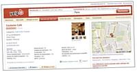 Yelp recense tous les commerces de proximité signalés par les internautes.