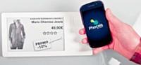 Grâce à la solution Phoceis, il est possible de télécharger des codes promotionnels directement sur son mobile NFC.