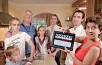 Huit familles ont été sélectionnées pour tourner la web-série.