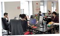 Les 65 collaborateurs de Synthesio sont à l'écoute du Web pour suivre l'e-réputation de leurs clients.