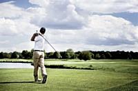 Xavier Ducurtil est un adepte du golf, qui lui apporte une véritable sérénité.