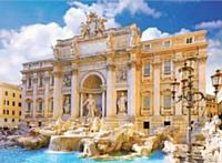 Eric Joulié apprécie l'ambiance de Rome...