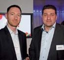 Nicolas Rousseau (LaSer) et Hervé Cebula (Mediatech)