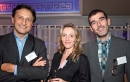 Roger Lei, Béatrice Poumerie et Patrick Russo (LaSer).