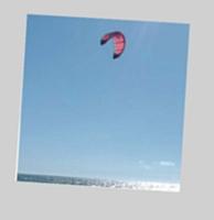 ...mais aussi le sentiment de liberté que procure le kitesurf.