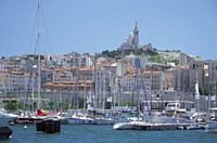 Marseille est la ville de coeur de Xavier Delanglade. Le week-end, il y retrouve ses trois fils.