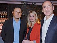 Roger Lei, LaSer, Émilie Kovacs, Marketing Direct, et Éric Corrius, dg de Vocalcom,