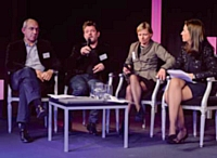 Didier Farge, SNCD, Yan Claeyssen, AACC, Nathalie Chamblain, CMIT et Stéfanie Moge-Masson, Marketing Direct.