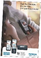 Dans sa dernière campagne, Nokia met en scène Pémotion suscitée par le portable, la vidéo donnant l'impression d'être dans la même pièce que son interlocuteur.