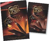 Nestlé crée une nouvelle gestuelle dans la consommation de chocolat noir de dégustation.
