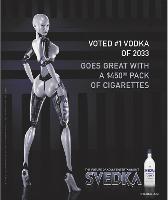 La Svedka girl commente la vie en 2033: une campagne qui a créé un buzz aux Etats-Unis.
