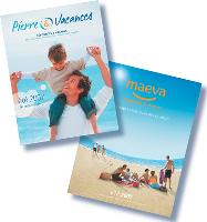 Les magazines été 2007 de Pierre & Vacances et de Maeva ont été déclinés en cohérence avec les campagnes publicitaires.