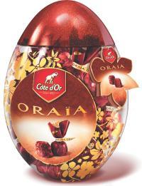 A Noël ou à Pâques, difficile pour les chocolats de faire l'impasse sur les packagings événementiels.