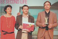 Paola Jesson (commissaire générale du Semo), Christophe Desgouttes (Web développeur chez Repères), François Abiven (président-directeur général de Repères).