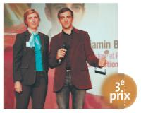 Thérèse Aldebert (directeur marketing de Nespresso France), Benjamin Bejbaum (cofondateur et président-directeur général de Dailymotion).