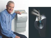 James Dyson entend investir le marché du B to B avec son nouveau sèche-mains Airblade.