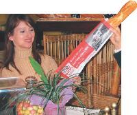 Tac Tic Média propose des sacs à pains ou à sandwiches publicitaires.