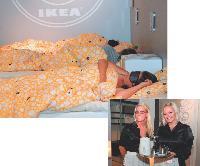 Ikea Norvège a réalisé le rêve de beaucoup d'entre nous: rester toute une nuit enfermé dans un magasin, invité à dormir et même à se réveiller avec le petit-déjeuner servi au lit.