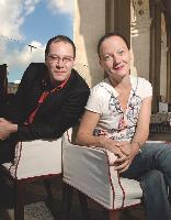 Robert Vinet (Community Chest) et Christine Santarelli (Duke)