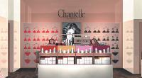 La boutique de Boulogne-Billancourt, ouverte fin septembre, est l'emblème du nouveau positionnement de la marque sur la beauté en général.