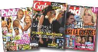 Les magazines people contribuent à mettre sur le même plan animateurs télé, stars du showbiz, participants de télé-réalité, et hommes et femmes de la sphère politique.