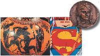 Dans son exposition «Héros, d'Achille à Zidane du 9 octobre 2007 au 13 avril 2008, la BNF retrace révolution du héros à travers les siècles.
