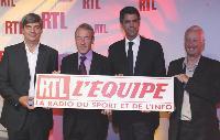 La nouvelle web radio RTL-L'Equipe se veut «la radio du sport et de l'info».