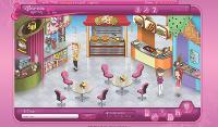 Sur Barbiegirls.fr, les filles se créent un personnage, qu'elles: habillent et maquillent.