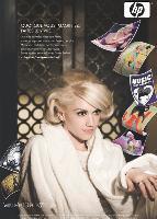 Gwen Stefani participe à la campagne «What do you have to say» de HP