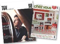 Les consumer magazines véhiculent les valeurs, la mission et l'activité de l'entreprise.