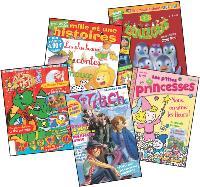 Des magazines issus de programmes télévises aux publications destinées aux seuls garçons ou filles, la presse jeunesse multiplie les pistes de développement.