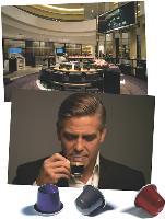 Nespresso affiche une croissance de plus de 40% par an et un atout de charme en la personne de George Clooney.