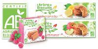 L'agence Nude a travaillé sur la gamme L'Arbre à Biscuits de Lu, proposant des produits bio.