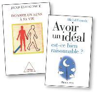 Dans Donner un sens à sa vie et Avoir un idéal est-ce bien raisonnable?, Jacques Lecomte et Michel Lacroix traitent de la question de l'idéal.