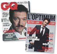 Les deux magazines masculins GQ et L'Optimum ont aligné leurs tarifs à un euro chacun en mars.