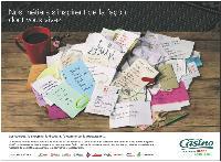 Les dernières campagnes de Casino mettent le Post-it à l'honneur, outil idéal pour ne rien oublier.
