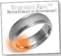 Vendue 760 dollars, la remember ring émet de la chaleur rappelant, par exemple, une date anniversaire à ne pas oublier.