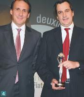 4 Stéphane Marcel (directeur marketing et développement de TNS Sofres) et Sébastien Perrais (directeur marketing de la marque Fiat France).