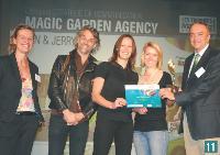 11 Béatrix Mourer (Magic garden agency), Ricardo Zimmerman (Magic garden agency), Julia Perroux (Ben & Jerry's), aurélie Fircowicz (Magic garden agency) et Jean-Michel Raico-vitch (adetem).