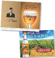Communiquer sur ses origines, tel est le principe retenu par certaines marques, à l'instar d'affligem et de Dillon qui mettent respectivement à l'honneur la Belgique et la Martinique.